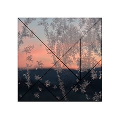 Hardest Frost Winter Cold Frozen Acrylic Tangram Puzzle (4  X 4 )