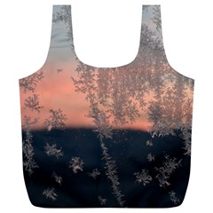 Hardest Frost Winter Cold Frozen Full Print Recycle Bags (l)
