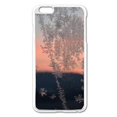 Hardest Frost Winter Cold Frozen Apple Iphone 6 Plus/6s Plus Enamel White Case