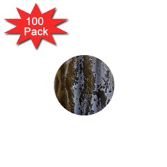 Grunge Rust Old Wall Metal Texture 1  Mini Buttons (100 Pack)