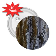 Grunge Rust Old Wall Metal Texture 2 25  Buttons (10 Pack)