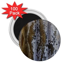 Grunge Rust Old Wall Metal Texture 2 25  Magnets (100 Pack)