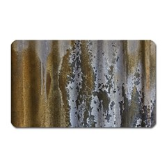 Grunge Rust Old Wall Metal Texture Magnet (rectangular)