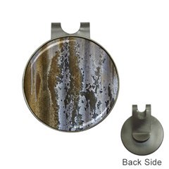 Grunge Rust Old Wall Metal Texture Hat Clips With Golf Markers