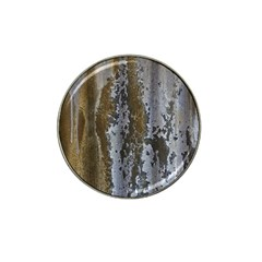 Grunge Rust Old Wall Metal Texture Hat Clip Ball Marker (4 Pack)