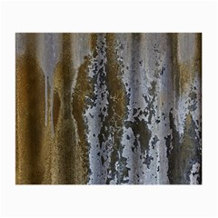 Grunge Rust Old Wall Metal Texture Small Glasses Cloth