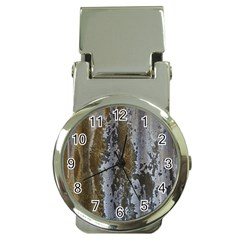 Grunge Rust Old Wall Metal Texture Money Clip Watches
