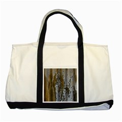 Grunge Rust Old Wall Metal Texture Two Tone Tote Bag