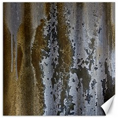 Grunge Rust Old Wall Metal Texture Canvas 20  X 20