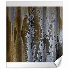 Grunge Rust Old Wall Metal Texture Canvas 20  x 24
