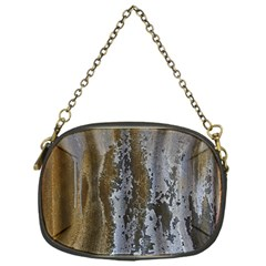 Grunge Rust Old Wall Metal Texture Chain Purses (one Side)