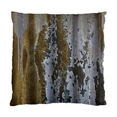 Grunge Rust Old Wall Metal Texture Standard Cushion Case (one Side)