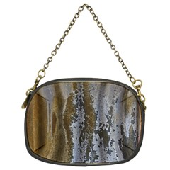 Grunge Rust Old Wall Metal Texture Chain Purses (two Sides)