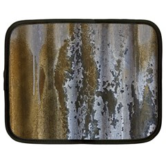 Grunge Rust Old Wall Metal Texture Netbook Case (xl)