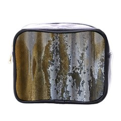 Grunge Rust Old Wall Metal Texture Mini Toiletries Bags