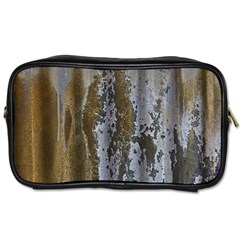 Grunge Rust Old Wall Metal Texture Toiletries Bags