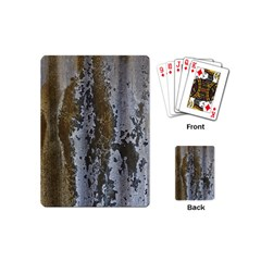 Grunge Rust Old Wall Metal Texture Playing Cards (mini)