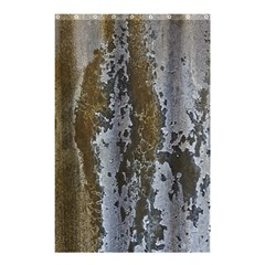 Grunge Rust Old Wall Metal Texture Shower Curtain 48  X 72  (small)