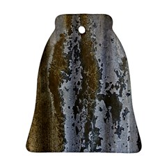 Grunge Rust Old Wall Metal Texture Ornament (bell)