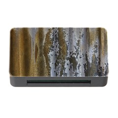 Grunge Rust Old Wall Metal Texture Memory Card Reader With Cf