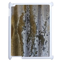 Grunge Rust Old Wall Metal Texture Apple Ipad 2 Case (white)