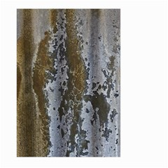 Grunge Rust Old Wall Metal Texture Large Garden Flag (two Sides)