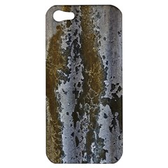 Grunge Rust Old Wall Metal Texture Apple Iphone 5 Hardshell Case