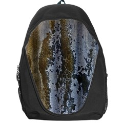 Grunge Rust Old Wall Metal Texture Backpack Bag