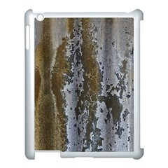 Grunge Rust Old Wall Metal Texture Apple Ipad 3/4 Case (white)