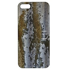 Grunge Rust Old Wall Metal Texture Apple Iphone 5 Hardshell Case With Stand