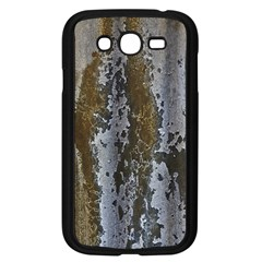 Grunge Rust Old Wall Metal Texture Samsung Galaxy Grand Duos I9082 Case (black)