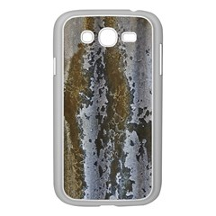 Grunge Rust Old Wall Metal Texture Samsung Galaxy Grand Duos I9082 Case (white)