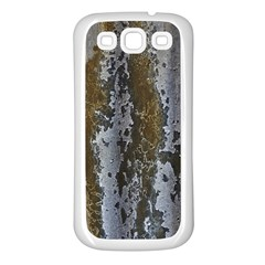 Grunge Rust Old Wall Metal Texture Samsung Galaxy S3 Back Case (white)
