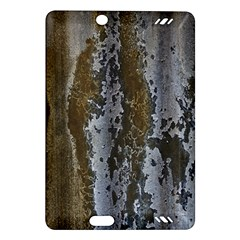 Grunge Rust Old Wall Metal Texture Amazon Kindle Fire Hd (2013) Hardshell Case