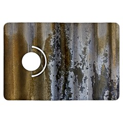 Grunge Rust Old Wall Metal Texture Kindle Fire Hdx Flip 360 Case