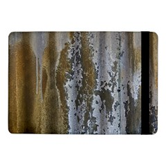 Grunge Rust Old Wall Metal Texture Samsung Galaxy Tab Pro 10 1  Flip Case