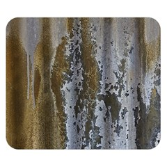 Grunge Rust Old Wall Metal Texture Double Sided Flano Blanket (small)