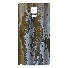 Grunge Rust Old Wall Metal Texture Galaxy Note 4 Back Case