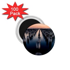 Logs Nature Pattern Pillars Shadow 1 75  Magnets (100 Pack)
