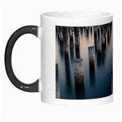 Logs Nature Pattern Pillars Shadow Morph Mugs
