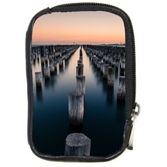 Logs Nature Pattern Pillars Shadow Compact Camera Cases