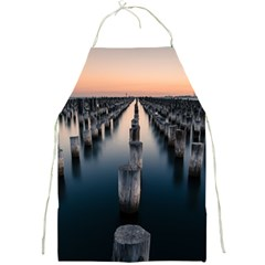 Logs Nature Pattern Pillars Shadow Full Print Aprons