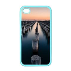 Logs Nature Pattern Pillars Shadow Apple Iphone 4 Case (color)