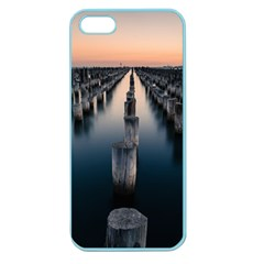 Logs Nature Pattern Pillars Shadow Apple Seamless Iphone 5 Case (color)
