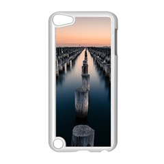 Logs Nature Pattern Pillars Shadow Apple Ipod Touch 5 Case (white)