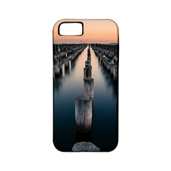 Logs Nature Pattern Pillars Shadow Apple Iphone 5 Classic Hardshell Case (pc+silicone)