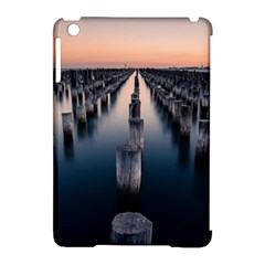 Logs Nature Pattern Pillars Shadow Apple Ipad Mini Hardshell Case (compatible With Smart Cover)