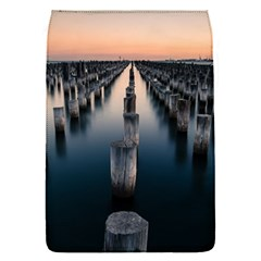 Logs Nature Pattern Pillars Shadow Flap Covers (s)