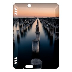 Logs Nature Pattern Pillars Shadow Kindle Fire Hdx Hardshell Case