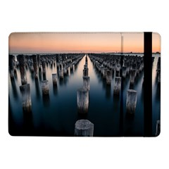Logs Nature Pattern Pillars Shadow Samsung Galaxy Tab Pro 10 1  Flip Case